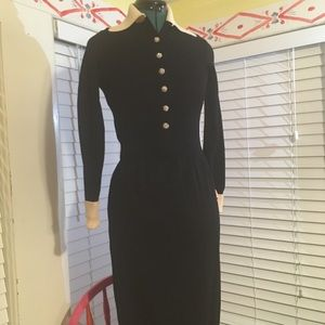 Vintage THE KNIT GROUP by E Eysen Evening Dress